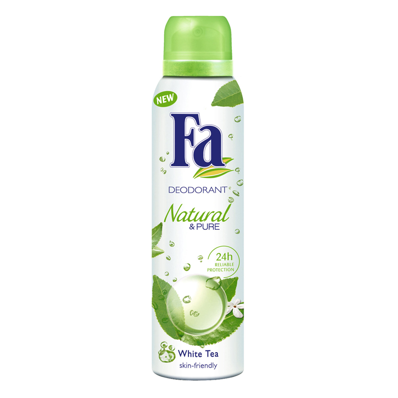 Fa Natural & Pure White Tea Deodorant