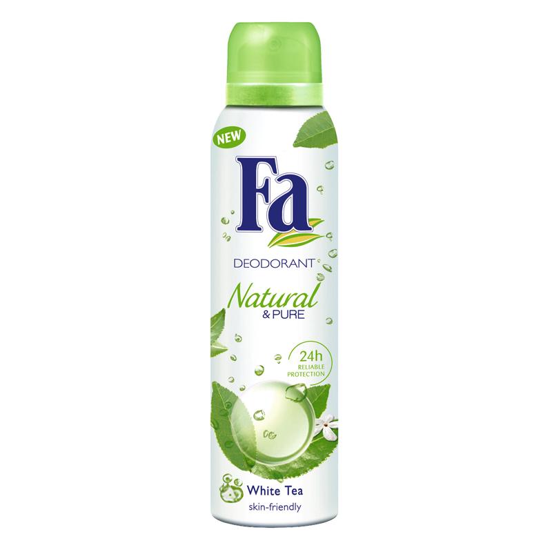 Fa Natural & Pure White Tea Deodorant