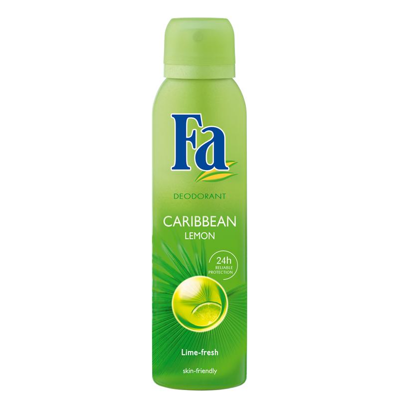 Fa Caribbean Lemon Deodorant