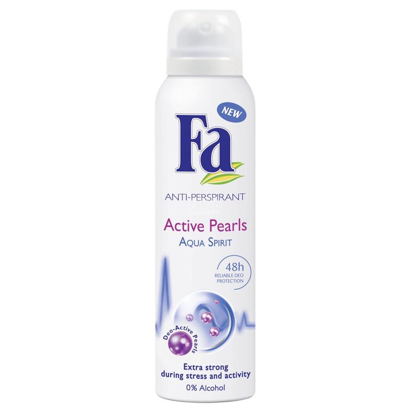 Fa Active Pearls Aqua Spirit Deodorant