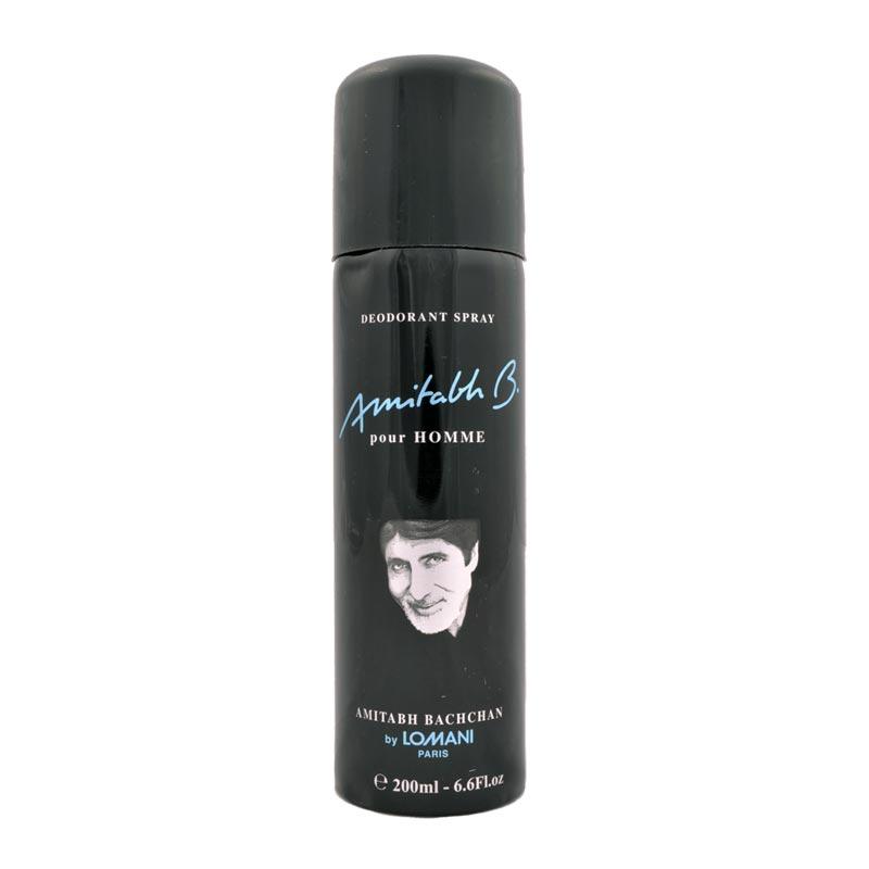 Lomani Amitabh Bachchan Black Deodorant