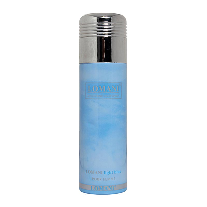 Lomani Light Blue Deodorant