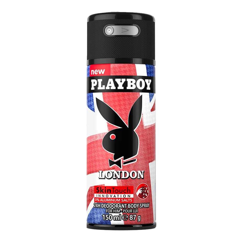 playboy london deodorant spray beknk
