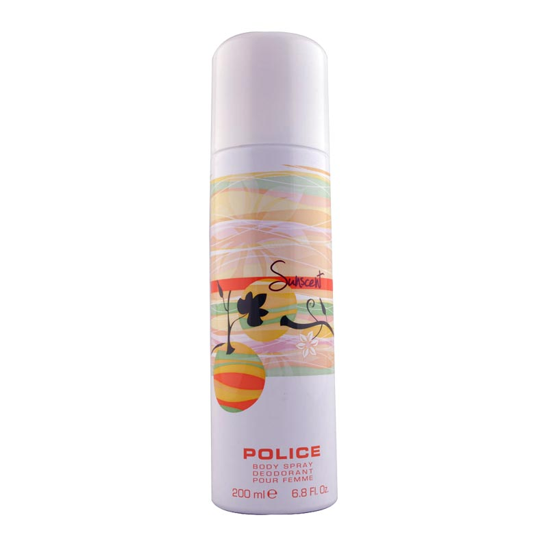 Police Sunscent Deodorant