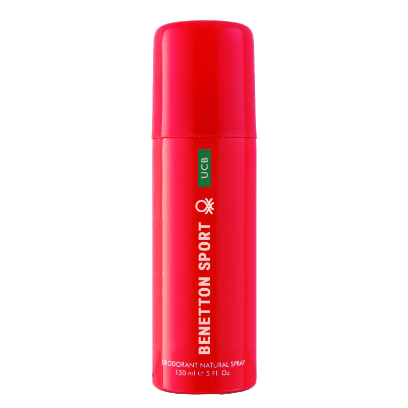 United Colors Of Benetton Sport Red Deodorant