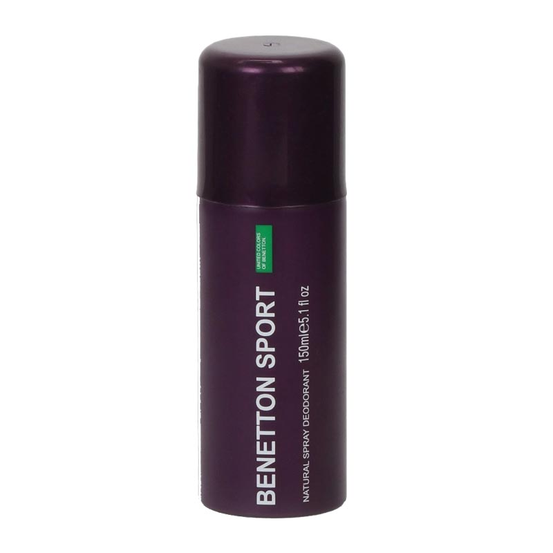 United Colors Of Benetton Sport Purple Water Base Deodorant