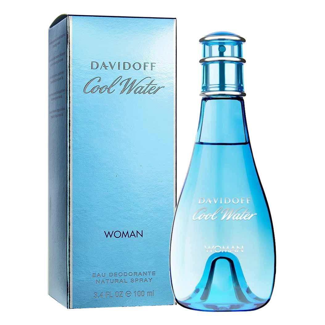 Davidoff Cool Water Men And Women Deodorant Combo