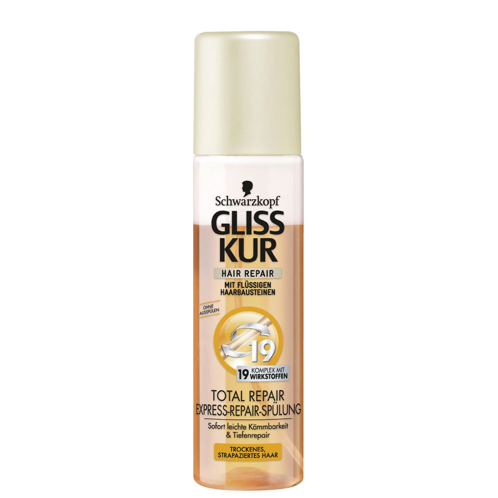 Schwarzkopf Gliss Total Repair Express Repair Spray On Conditioner