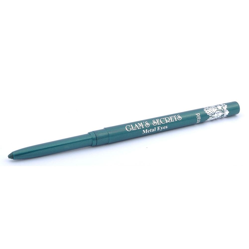 Glams Secrets Metal Eyes Emerald Eye Liner Pencil