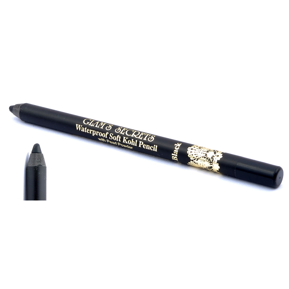 Glams Secrets Waterproof Single Stroke Kohl Pencil