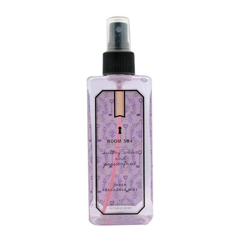 Victorias Secret Room 504 Amber and Passion Body Mist