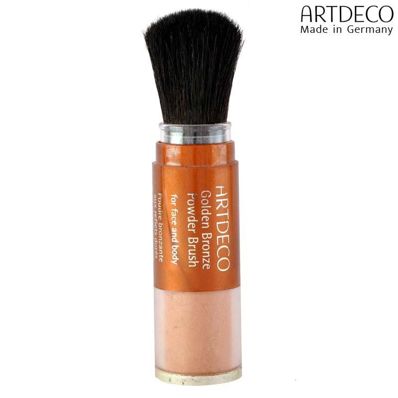 Artdeco Face Et Body Golden Finish Powder Brush Cheryyle Golden -GPB7