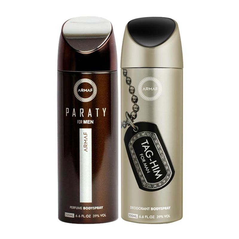 Armaf Paraty, Tag Him Pack of 2 Deodorants