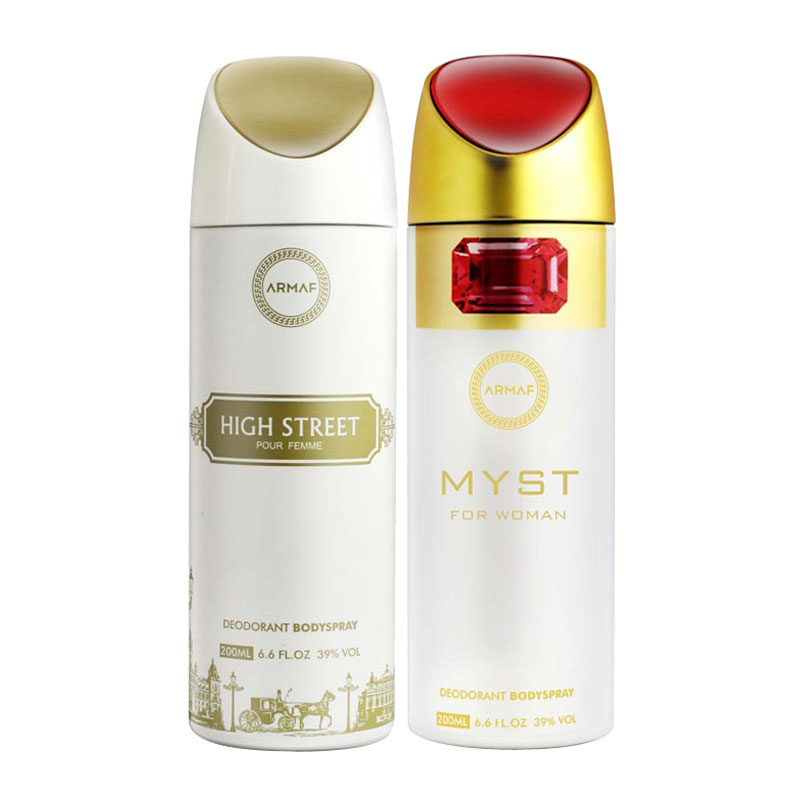 Armaf High Street, Myst Pack of 2 Deodorants