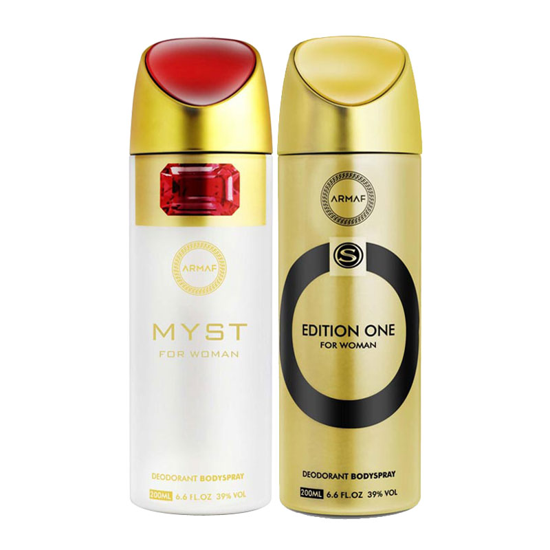 Armaf Myst, Edition One Pack of 2 Deodorants