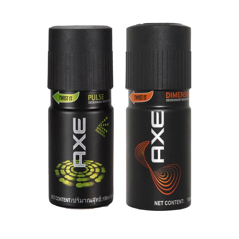 Axe Pulse, Dimension Pack of 2 Deodorants