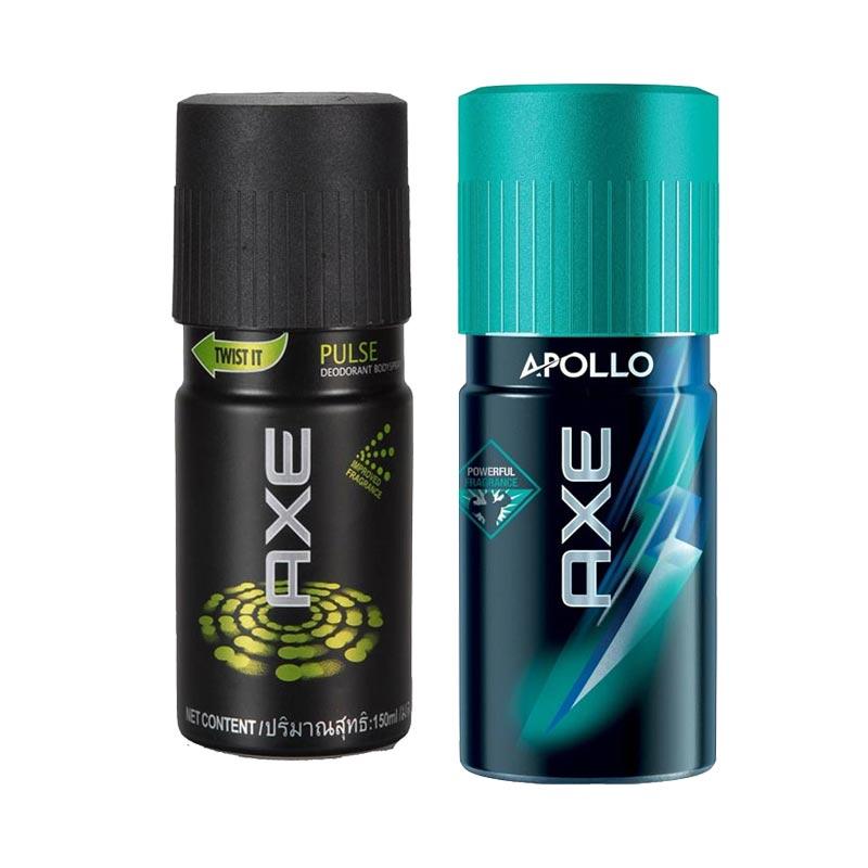 Axe Pulse, Apollo Pack of 2 Deodorants