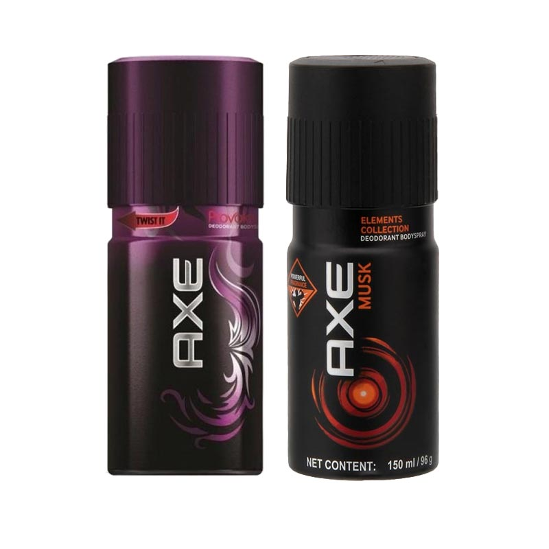 Axe Provoke, Musk Pack of 2 Deodorants
