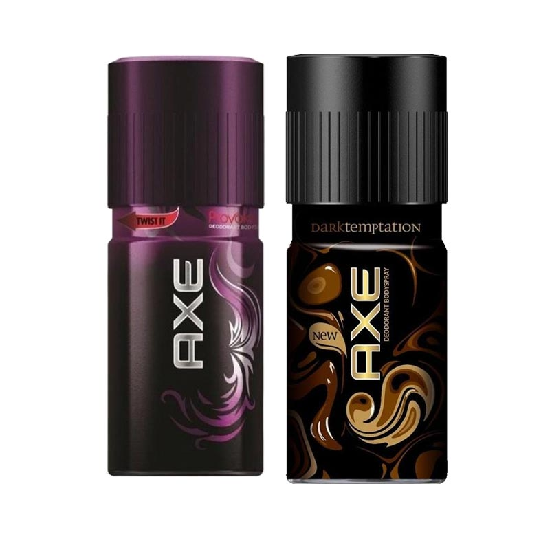Axe Provoke, Dark Temptation Pack of 2 Deodorants