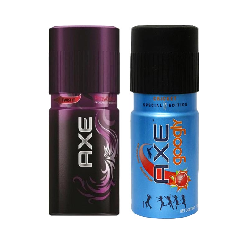 Axe Provoke, Googly Pack of 2 Deodorants