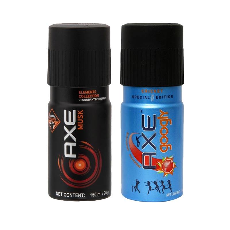 Axe Musk, Googly Pack of 2 Deodorants