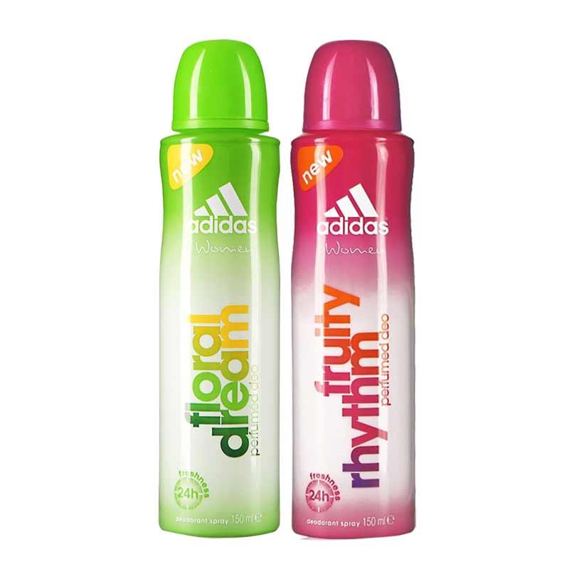 Adidas Floral Dream Fruity Rhythm Pack of 2 Deodorants
