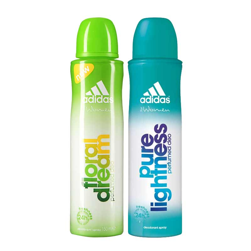 Adidas Floral Dream Pure Lightness Pack of 2 Deodorants
