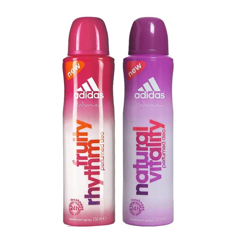 Adidas Fruity Rhytm Natural Vitality Pack of 2 Deodorants