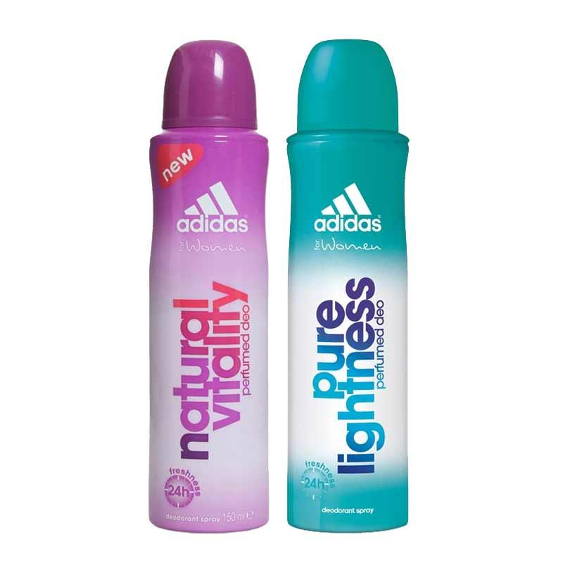 Adidas Natural Vitality Pure Lightness Pack of 2 Deodorants