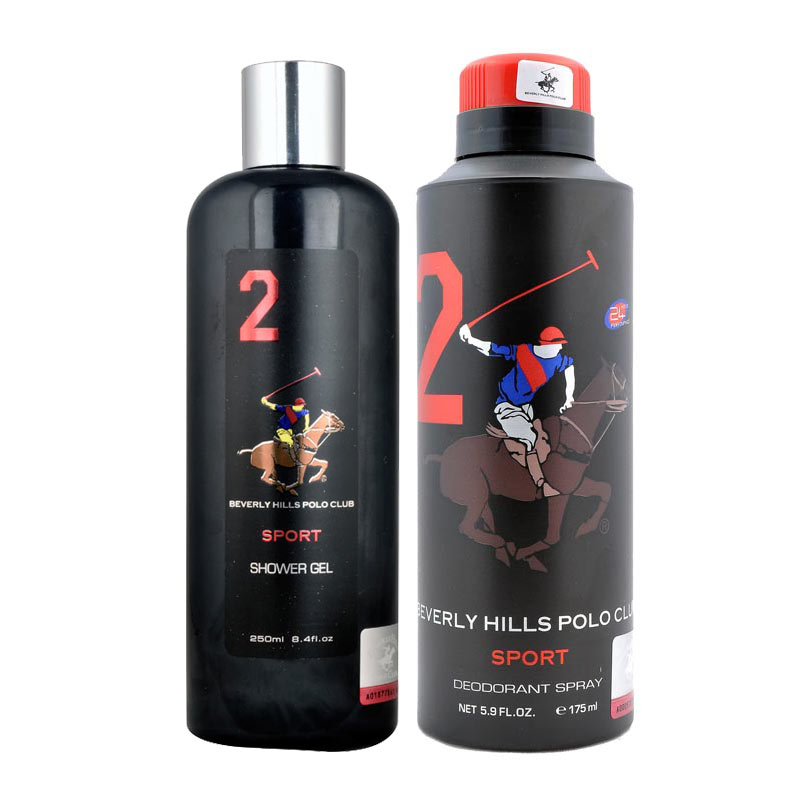 BHPC Sport No 2 Shower Gel and Deodorant