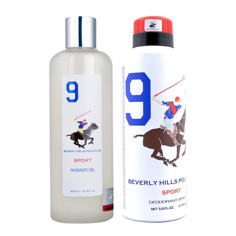 BHPC Sport No 9 Shower Gel and Deodorant
