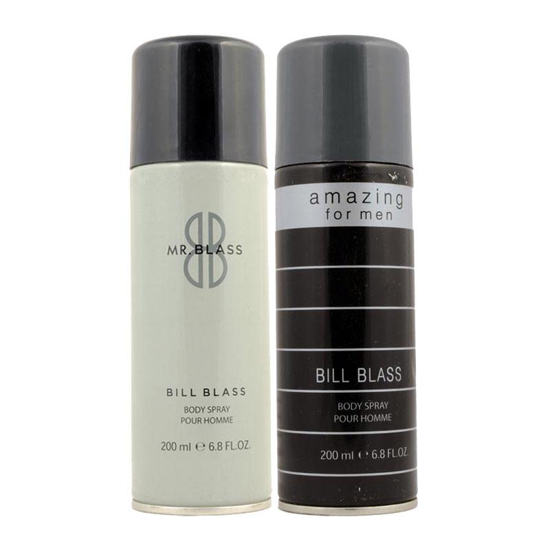 Bill Blass Mr Bill Blass, Amazing Pack of 2 Deodorants
