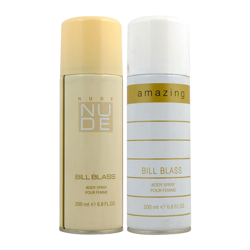 Bill Blass Nude, Amazing Pack of 2 Deodorants