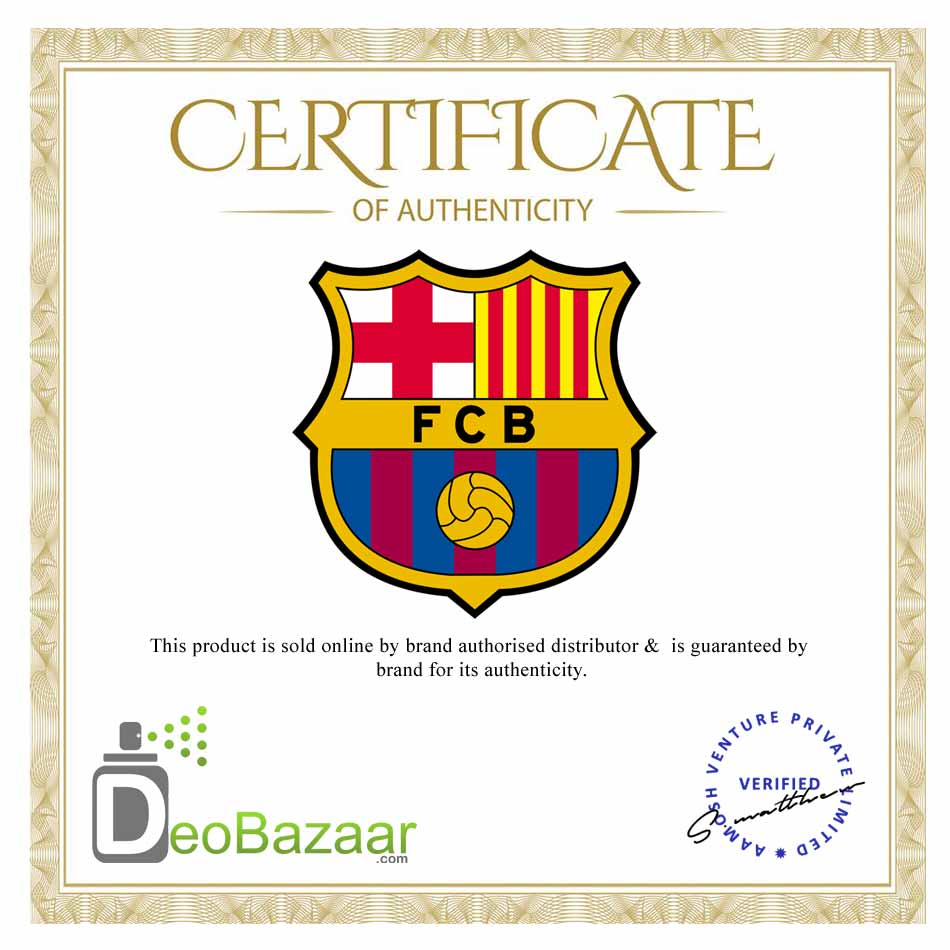 Football Club Barcelona 1 Perfume And 2 Deodorants Gift Set