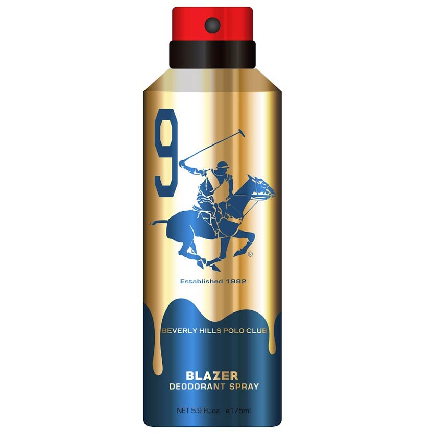 Beverly Hills Polo Club Blazer No 9 Gold Edition Deodorant
