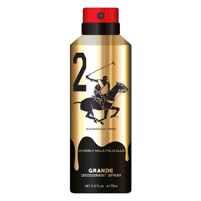 Beverly Hills Polo Club Grande No 2 Gold Edition Deodorant