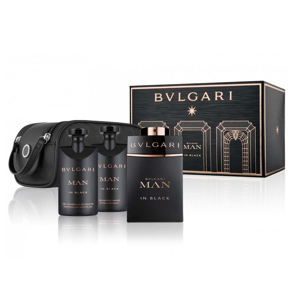 Bvlgari Man Black 3 Piece Gift Set