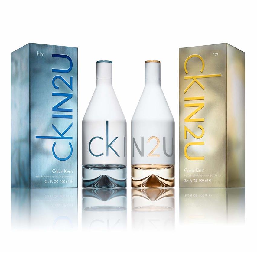 Calvin Klein In2u Men And Women Pack Of 2 Perfumes 100ml Perfumes