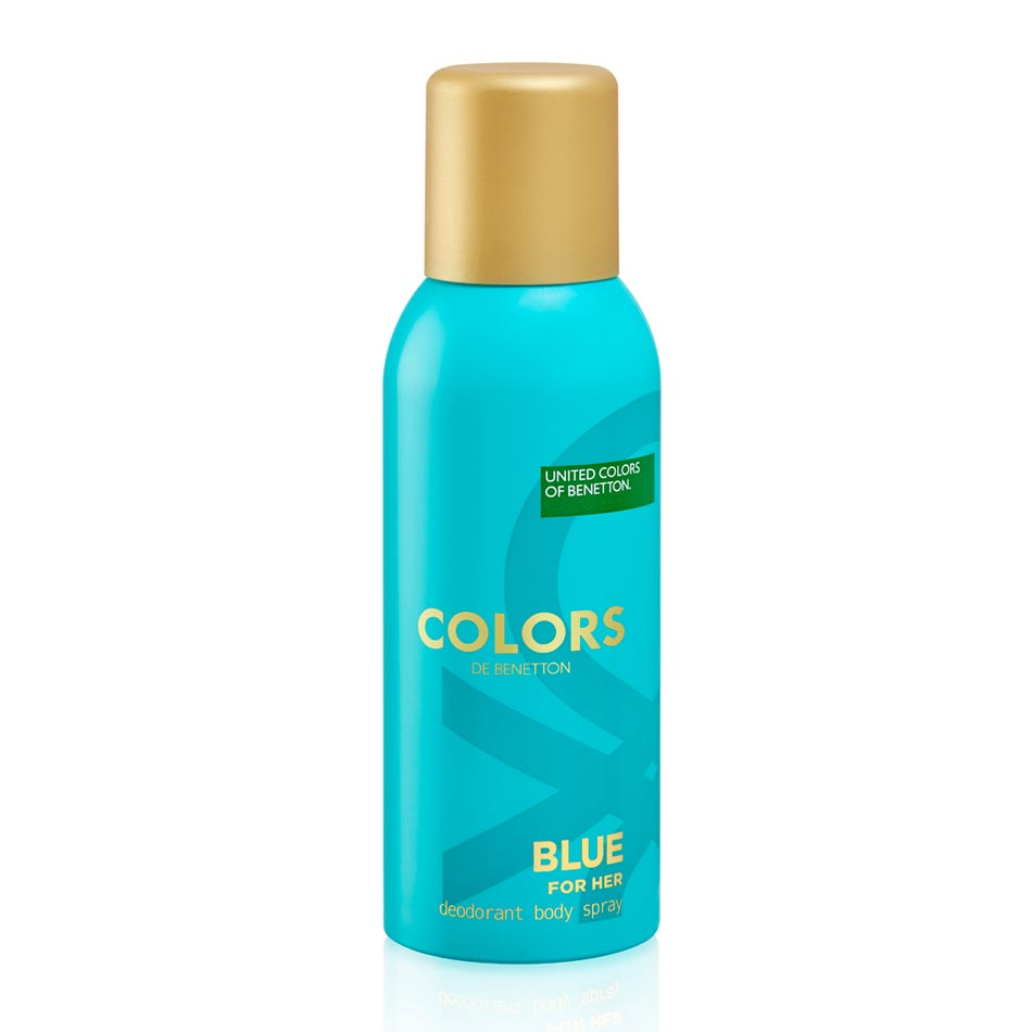 United Colors Of Benetton Colors De Benetton Blue Deodorant Spray