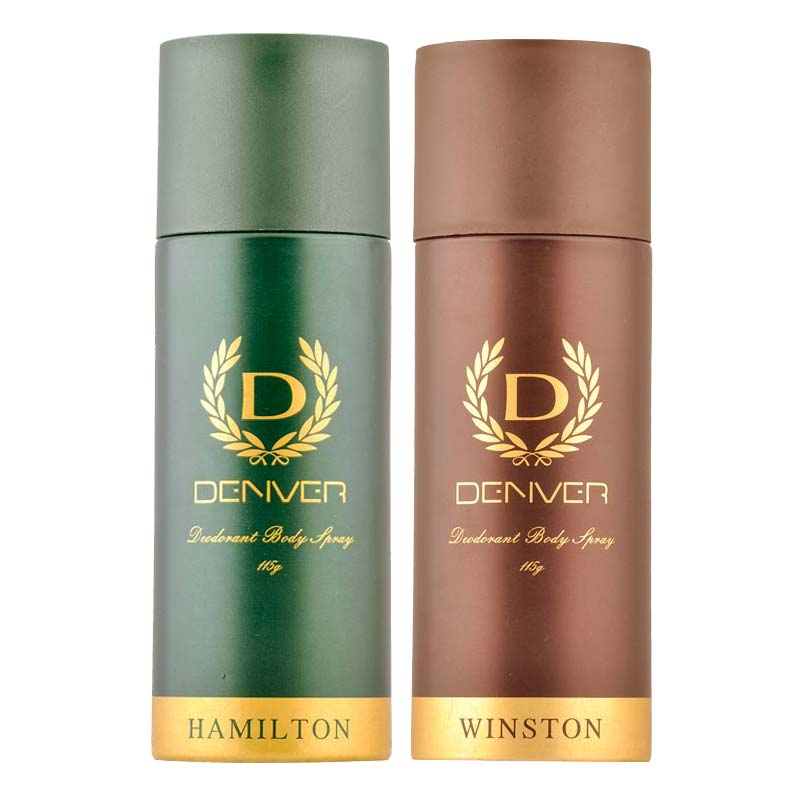 Denver Hamilton And Winston Pack of 2 Deodorants