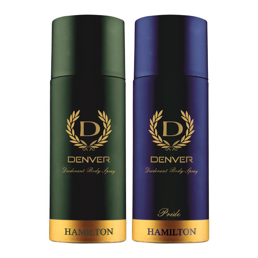 Denver Hamilton And Pride Pack of 2 Deodorants