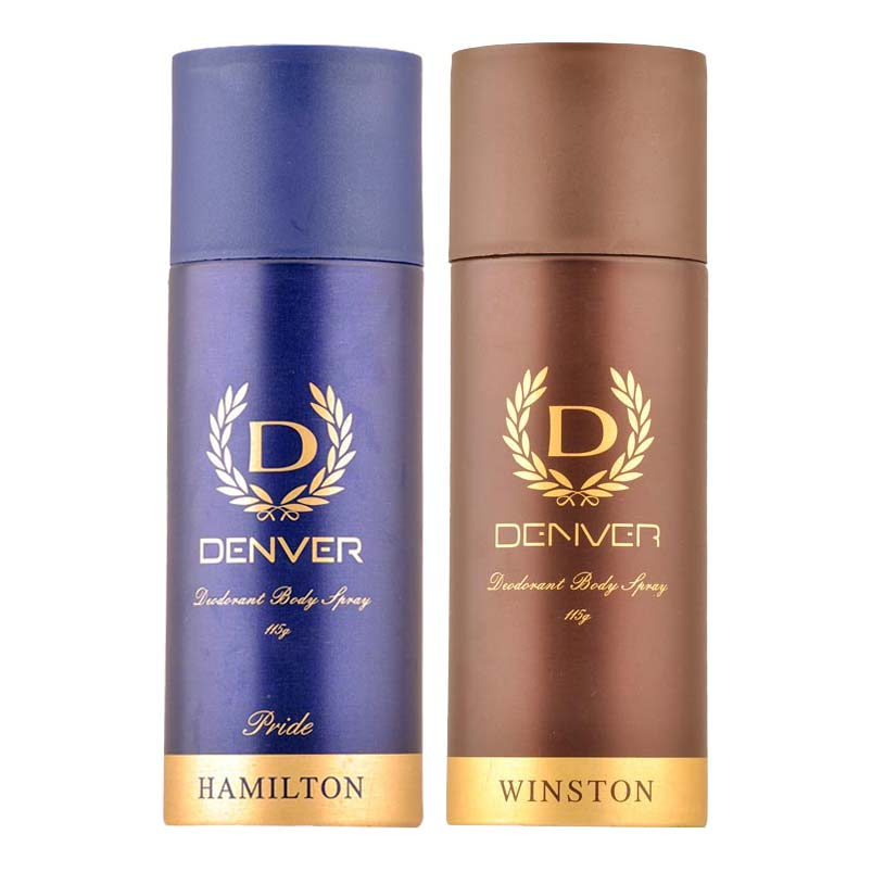Denver Hamilton Pride And Winston Pack of 2 Deodorants
