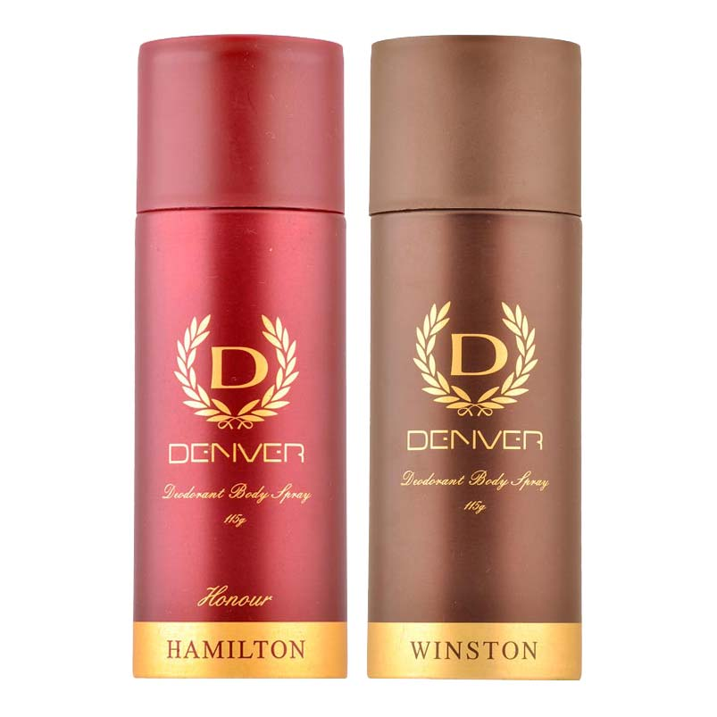 Denver Hamilton Honour And Winston Pack of 2 Deodorants