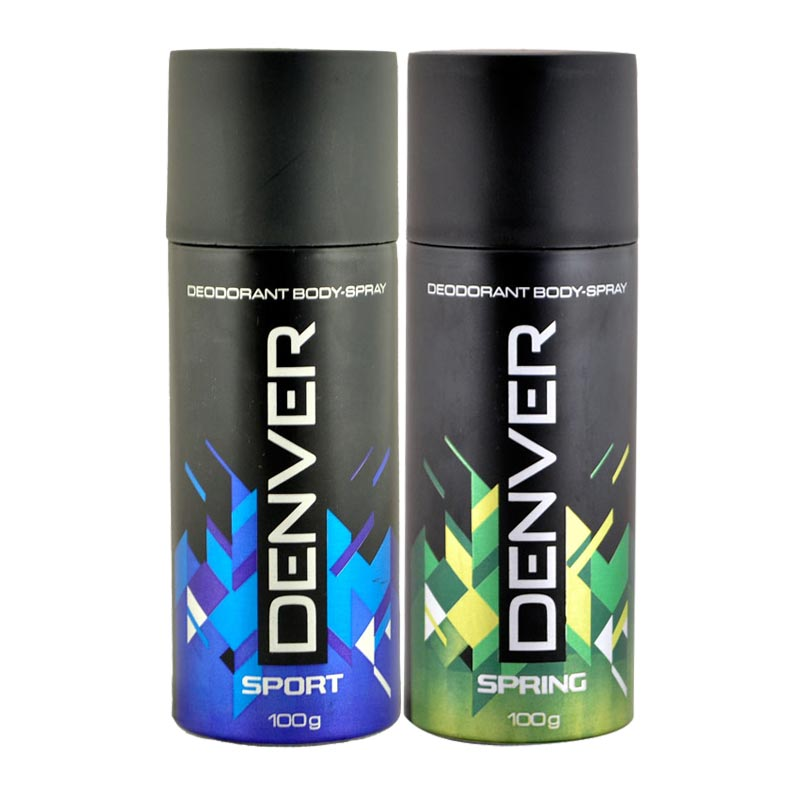 Denver Sport, Spring Pack of 2 Deodorants