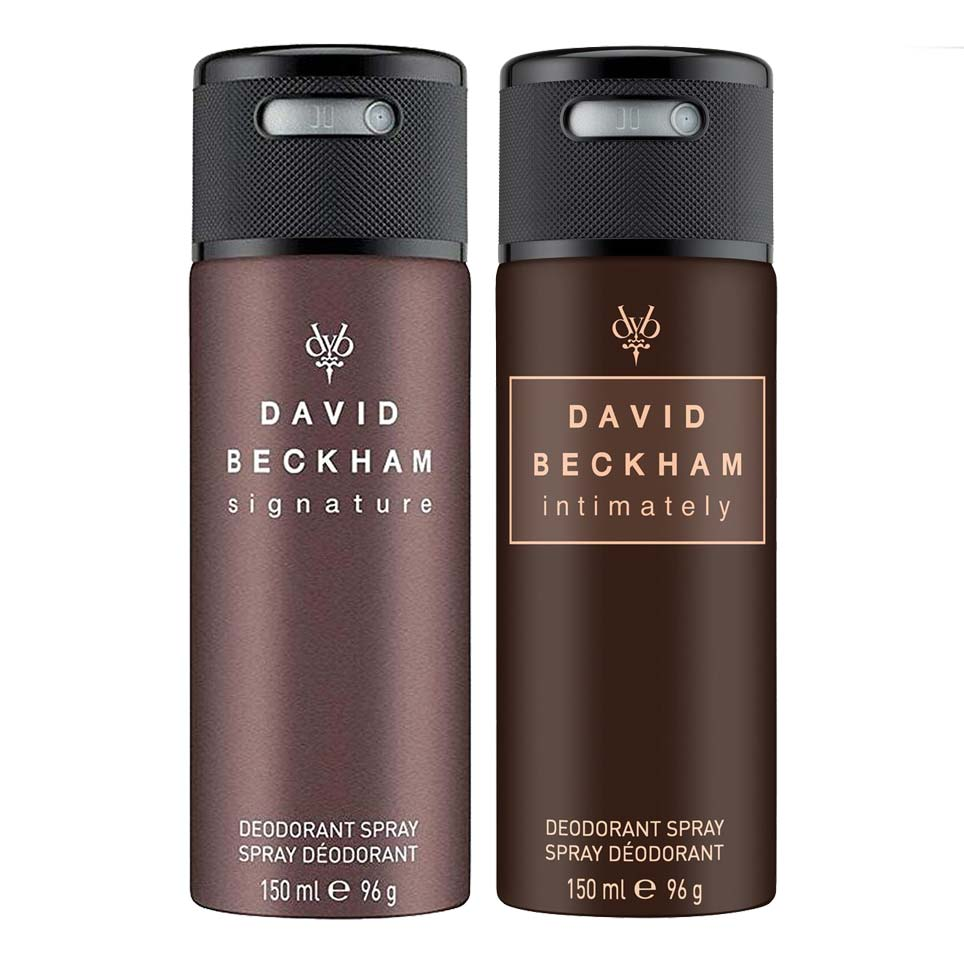 David Beckham Signature And Intimately Pack Of 2 Deodorants