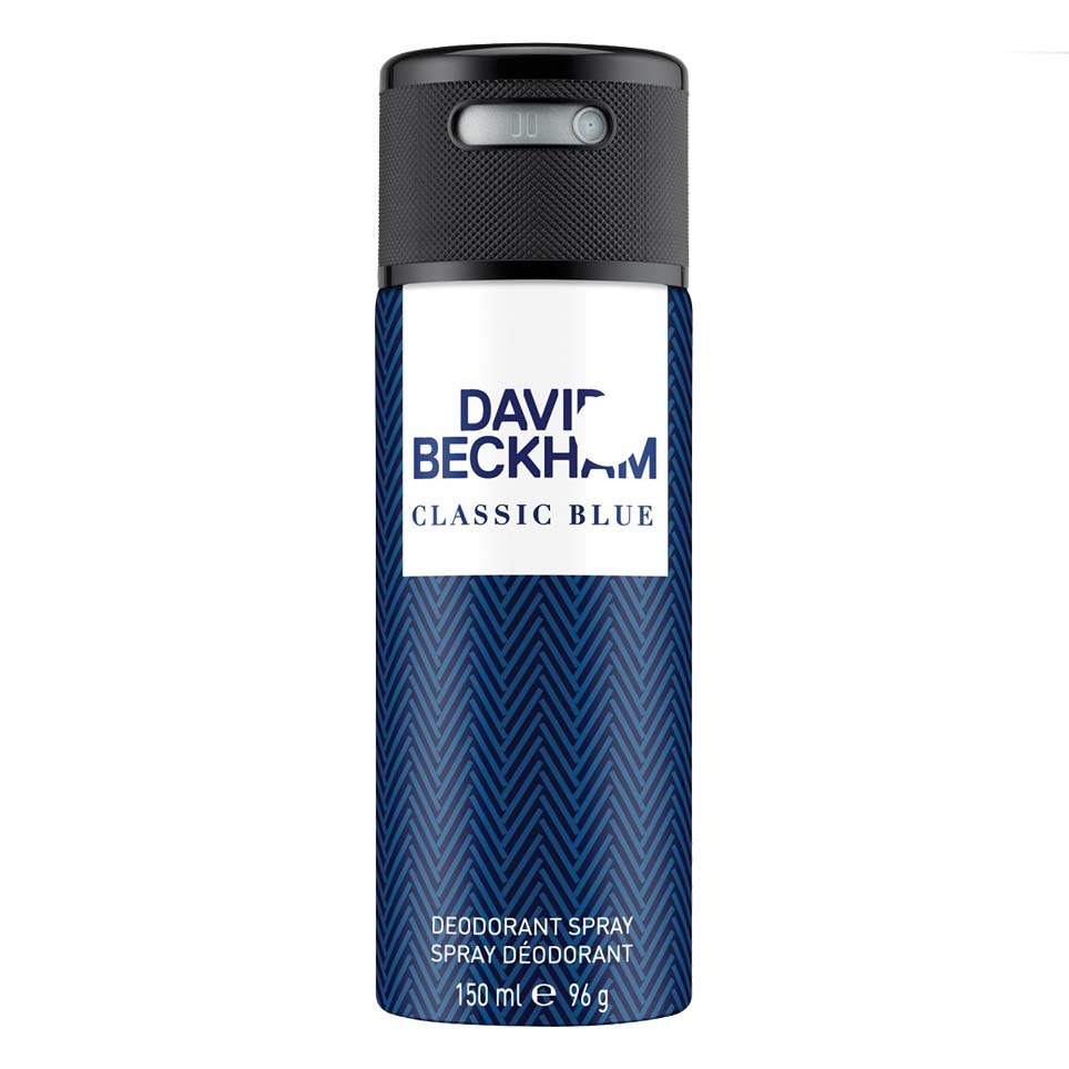 David Beckham Classic Blue Deodorant Spray