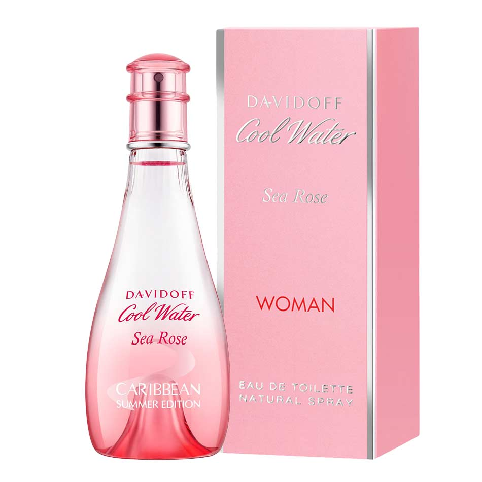 Davidoff Cool Water Sea Rose EDT Perfume Spray