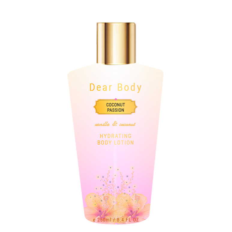Dear Body Coconut Passion Luxury Hydrating Body Lotion