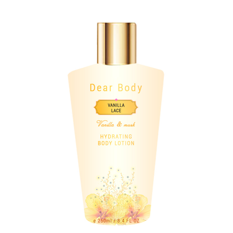Dear Body Vanilla Lace Luxury Hydrating Body Lotion