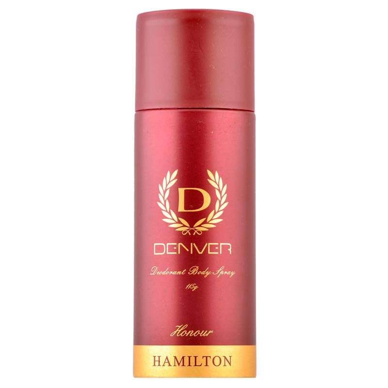 Denver Hamilton Honour Deodorant Spray